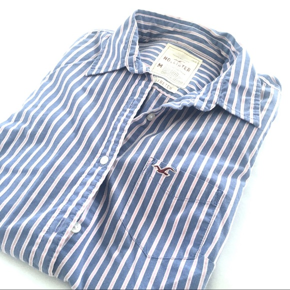 Hollister Tops - Hollister Striped Button Down
